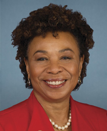 barbara lee goes to the UN