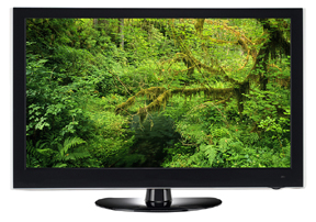tv are more efficient - greener