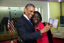 obama and auma obama