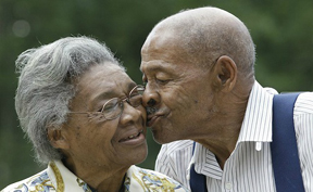 older black couple