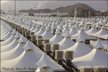 saudi arabia empty tents