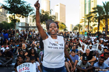 black isreali protests