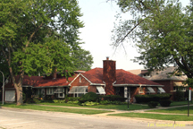 mahalia jackson home