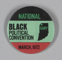 pin from National BLack Political Convention - Gary