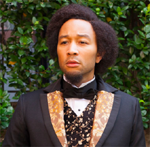 john legend as frederick douglass