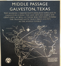 galveston tx slavery marker