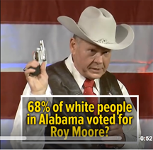 roy moore voters questioned