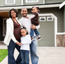 young black home owners