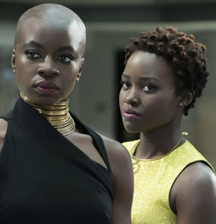 black panther natural hair