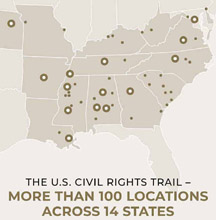 civil rights trail