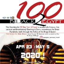 100 Black 2 Egypt