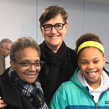 lori lightfoot and family