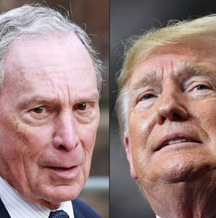 bloomberg vs trump