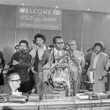 richard hatcher at the 1972 convention