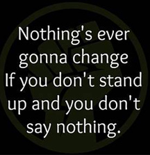 stand up and matter