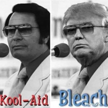 Jim Jones and Donald Trump