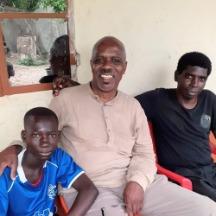 wayne young with gambian associates